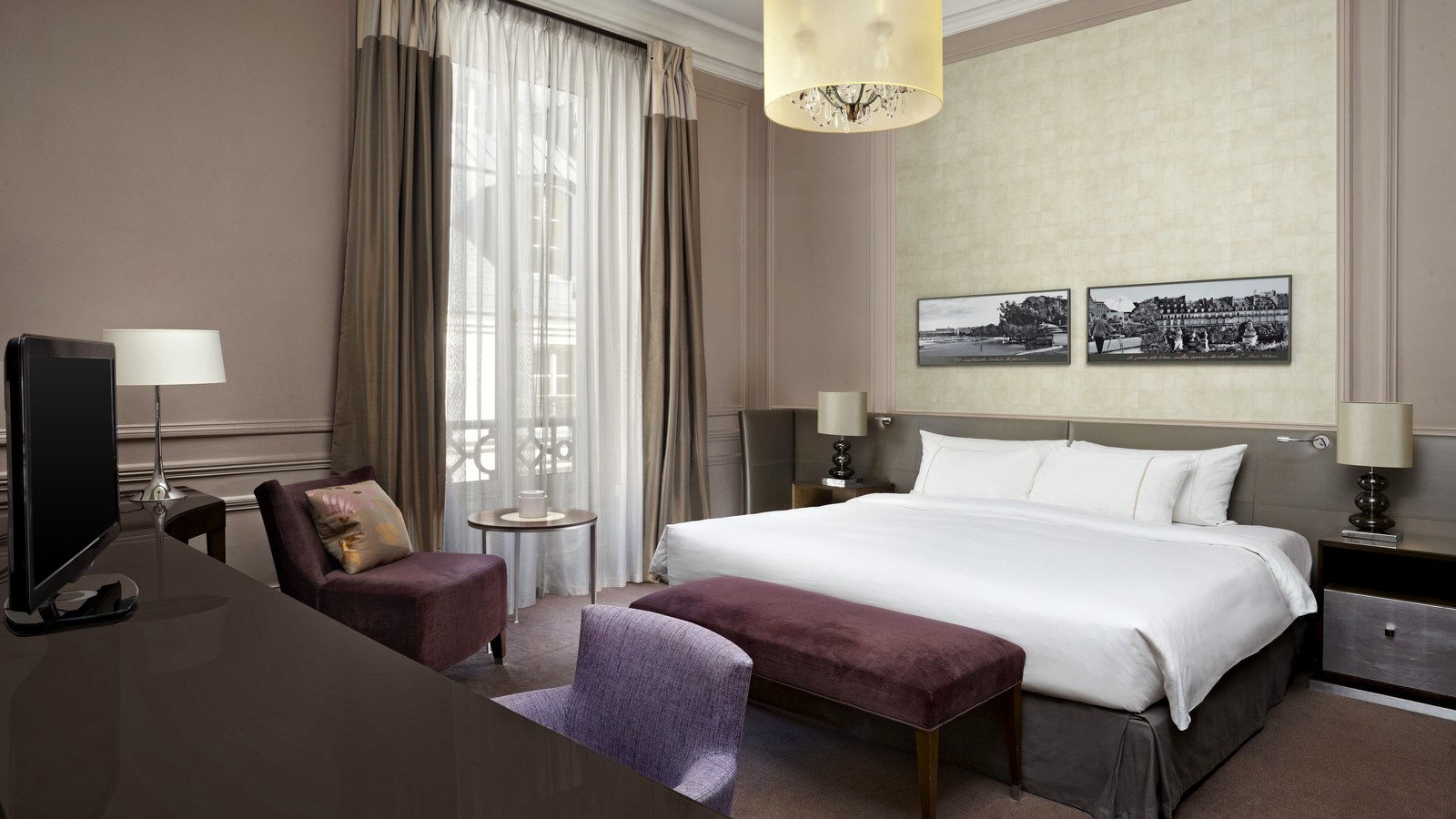 Номер Deluxe in  Westin Paris — Vendôme